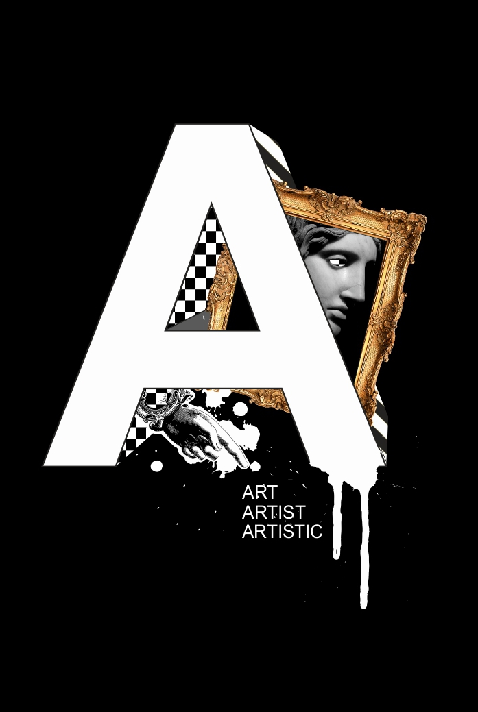 A is for ART by Anity Wolf